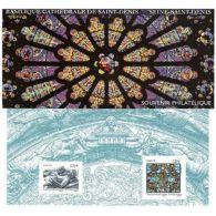 Bloc Souvenir N°109 - Basilique Cathédrale De Saint-Denis - Sheetlets