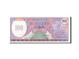 Surinam, 100 Gulden, 1982, KM:128b, 1985-11-01, SPL - Surinam