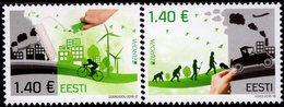 Estonia - 2016 - Europa CEPT - Think Green - Mint Stamp Set - Estonia