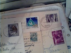 5 CARTOLINE CARD AFFRANCATE FRANCOBOLLI AUSTRIA STAMP QUASI TUTTI COMMEMORATIVI Vedi Foto GA12968 - Verzamelingen
