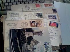 8 CARTOLINE CARD AFFRANCATE FRANCOBOLLI FRANCIA FRANCE STAMP QUASI TUTTI COMMEMORATIVI Vedi Foto GA12969 - Austria