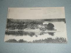 Rare CPA, Carte Postale, Chateau Et Rivière De Bélou, Finistère 29, Riec Sur Bélon - France