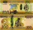SOLOMON IS.         100 Dollars       P-36       ND (2015)       UNC  [ Sign. 10-II ] - Isola Salomon