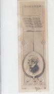 Richard Wagner - Interessante Karte Im Kleinstformat - 1901    (170227) - Music And Musicians