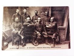 CP CAMPAGNE 1914-15 - 3eme ZOUAVES- SECTION HORS-RANG AUTOMOBILISTES - Regimenten