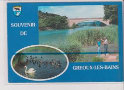 CPM - SOUVENIR DE GREOUX LES BAINS - Multivues - Le Verdon - Gréoux-les-Bains