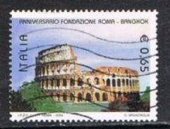 Italy SG MS2876(ex) 2004 Bangkok And Rome 65c (Rome) Good/fine Used [17/15827/7D] - 2001-10: Oblitérés