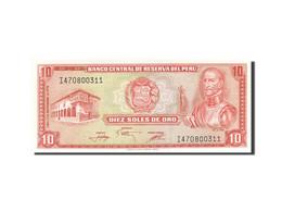 Pérou, 10 Soles De Oro, 1976-1977, KM:112, 1976-11-17, NEUF - Pérou