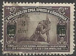 Yugoslavia Overprint Error 1922 - 1919-1929 Royaume Des Serbes, Croates & Slovènes