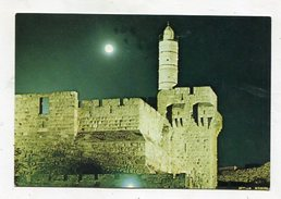ISRAEL - AK296190 Jerusalem - The Citadel At Night - Israel
