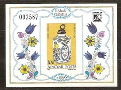 Hongrie Ungarn Hongarije 1985 Yvertn° Bloc 183 ND Ongetand Non Dentelé *** MNH Cote 25 Euro - Hojas Bloque