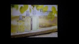 L'Occitane Parfum Carte Size Carte Postale 10,5 X 14,5 - Modern (from 1961)
