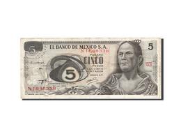 Mexique, 5 Pesos, 1969-1974, KM:62c, 1972-06-27, TB - Mexique