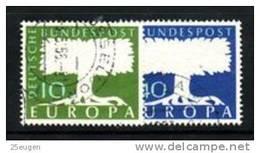 GERMANY 1957 EUROPA CEPT  USED - Europa-CEPT
