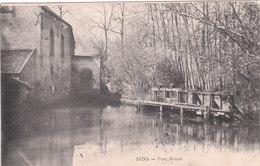 Carte Postale Ancienne De L'Yonne - Sens - Pont Bruant - Sens