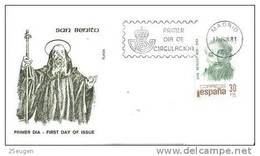 SPAIN 1981 EUROPA SYMPATHY ISSUE  FDC - European Ideas