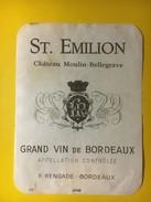 3446 - Château Moulin-Bellegrave Saint-Emilion - Bordeaux