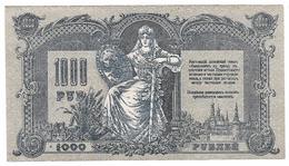 Billet De 1000 Roubles De 1919 - Russie