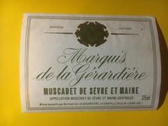 3453 -  Marquis De La Gérardière Muscadet De Sèvre Et Maine - Autres