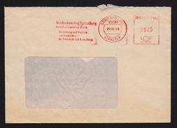 DDR AFS - 20 Pfg Vordruckverlag SPREMBERG 29.12.88 - DDR