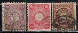 JAPAN 1906 - MiNr: 94-96 Komplett  Used - Japan