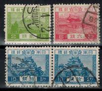JAPAN 1926 - MiNr: 177-179  Used - Japan