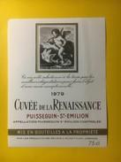 3467 -   Cuvée De La Renaissance 1979 Puisseguin Saint-Emilion - Bordeaux