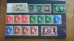 Marocco Inglese Lotticino Nuovi** + Spese Postali - Morocco Agencies / Tangier (...-1958)
