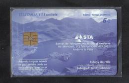 ANDORRA CHIP PHONECARD - Andorra