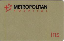 GREECE - Metropolitan Hospital, Member Card, Unused - Unclassified