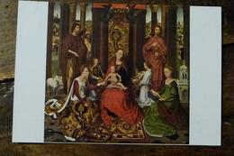 BELGIQUE, BRUGES, MEMLING, MARIAGE MYSTIQUE DE SAINTE CATHERINE - Paintings