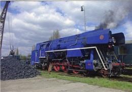 Steam Locomotive  -  Slovakian Railways (ZSR)  -  No 477,013  - In Kaschau 2015  -  CPM - Trains