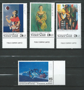Thailand 2003 Paintings Of The Great Artists.Art.MNH - Thaïlande