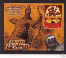 PERU MNH Stamp Prehistoric Animals Dinosaurs Fossils - Peru