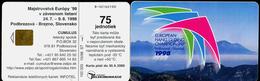 016-SLOVAKIA Telephone Card-chip European Hang Gliding Championship 100.000 Pcs 75 Units (A88) 1998 - Sport