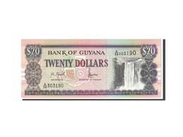Guyana, 20 Dollars, 1989, KM:27, NEUF - Guyana