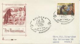 ITALIA - FDC CAPITOLIUM 1979 - PRO HANSENIANI - ANNULLO SPECIALE - 6. 1946-.. Repubblica