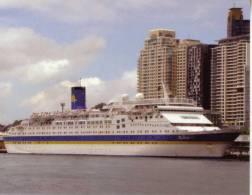 1 X Cruise Ship - Paquebot - Bateau De Croisière - P&O Pacific Star - Dampfer