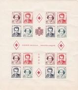 MONACO - Bloc CROIX-ROUGE Monégasque 1949 - Yvert 3A** MNH - Cote 480€ - Blocks & Sheetlets