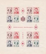 MONACO - Bloc CROIX-ROUGE Monégasque 1949 - Yvert 3B** MNH - Cote 510€ - Blocks & Sheetlets