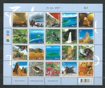 Thailand 2004 Unseen Thailand.animals,birds,waterfall,art,nature.cave.flowers.National Park..S/S,MNH - Thaïlande