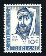 Nederland 1954: Bonifatius ** MNH - Periodo 1949 - 1980 (Giuliana)