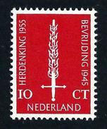 Nederland 1955: Bevrijdingszegel ** MNH - Periodo 1949 - 1980 (Giuliana)
