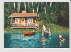 CPM - SUOMI FINLAND - Jarvenrantasauna Bastun Vid Sjon A Lakeside Sauna Eine Sauna Am Ufer Eines Sees - Finlande