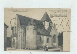 Druyes-les-Belles-Fontaines (89) : L´église  En 1910 (animé) PF.. - Autres Communes