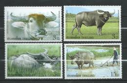 Thailand 2005 International Letter Writing Week - Water Buffaloes.Mammals.MNH - Thaïlande