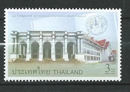 Thailand 2005 The 100th Anniversary Of The National Library Of Thailand.MNH - Thaïlande