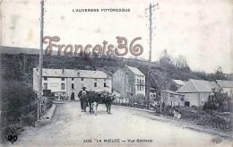 (63) La Miouze - Vue Générale - L' Auvergne Pittoresque - 2 SCANS - Francia