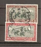 Egipto - Egypt. Nº Yvert  115-16 (usado) (o) - Usados