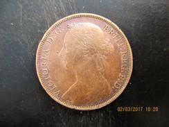 Victoria, One Penny 1888, TTB - 1816-1901 : Coniature XIX° S.